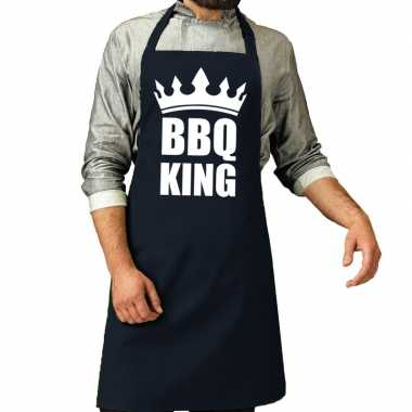 Barbecue king barbeque kookschort / kookschort navy heren