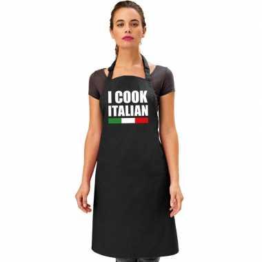 I cook italian kookschort