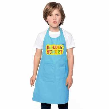 Kliederkookschort blauw kinderen