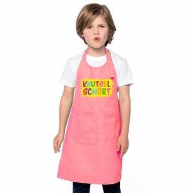 Knutselkookschort roze kinderen