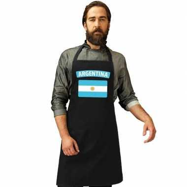 Kookschort argentijns restaurant vlag argentinie