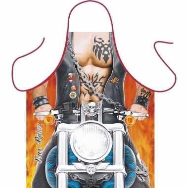 Kookschort biker man