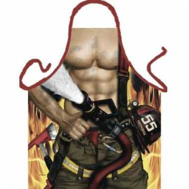 Kookschort Brandweerman
