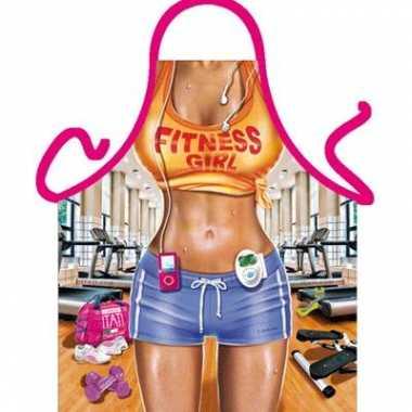 Kookschort Fitness vrouw