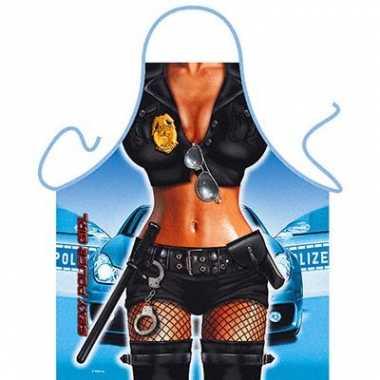 Kookschort Police Girl