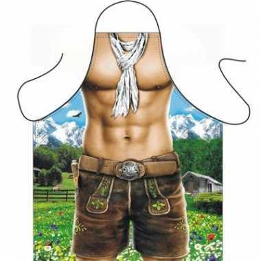 Kookschort Trendy Alpen man