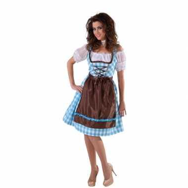 Oktoberfest blauw bruin kookschort