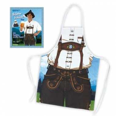 Oktoberfest thema kookschort man