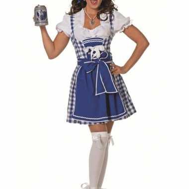 Sexy bierfeest kookschort blauw