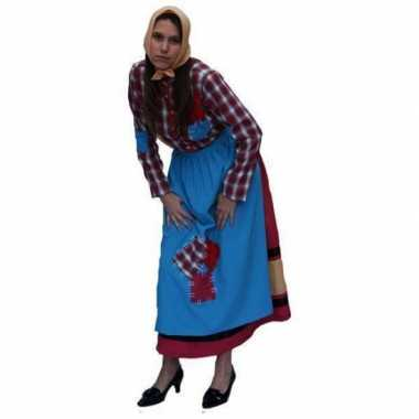 Zigeuner heksen kookschort dames