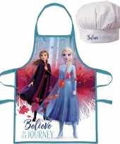 Disney frozen kookschort koksmuts kinderen