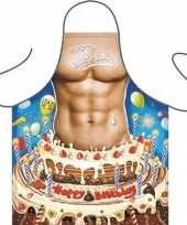 Kookschort happy birthday man