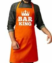 Oranje bar king kookschort heren